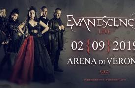 Gli Evanescence tornano in Italia per una data imperdibile all'Arena di Verona