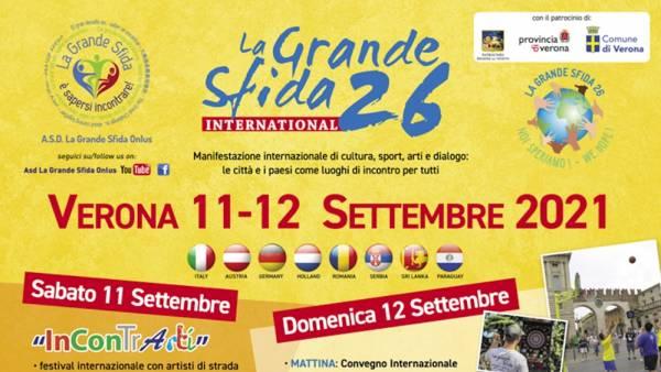 La Grande Sfida International nelle piazze principali di Verona