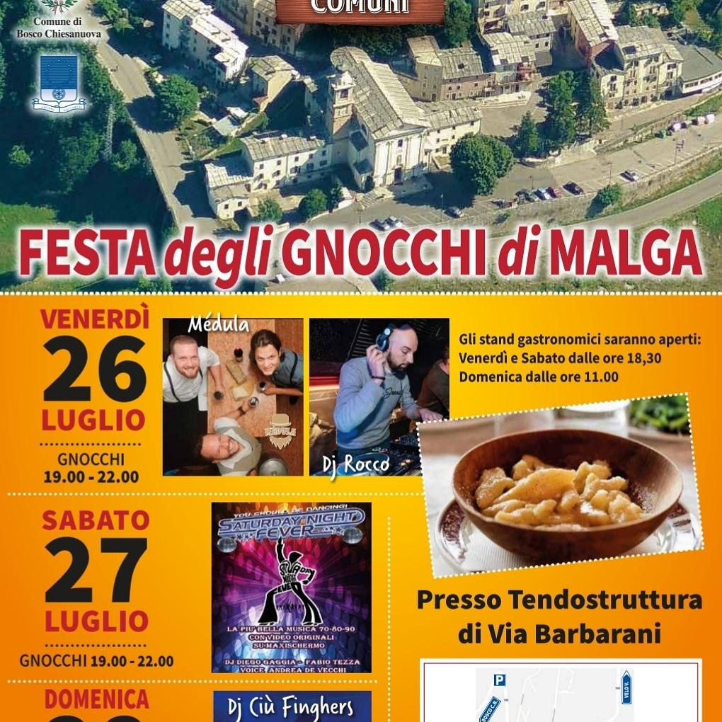 Festa degli Gnocchi di Malga a Valdiporro di Bosco Chiesanuova