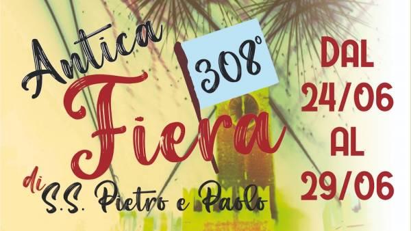 308ma edizione dell'Antica Fiera dei Santi Pietro e Paolo a Villafranca di Verona
