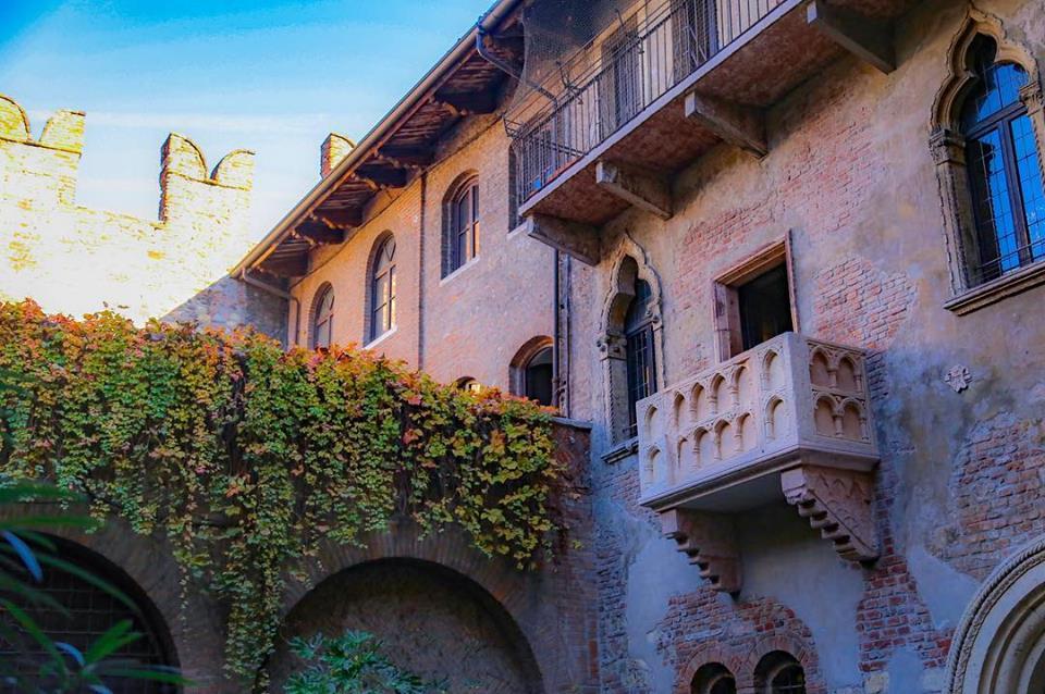 Il balcone della Casa di GIulietta