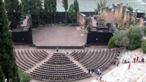 Teatro Romano, l'edificio più antico di Verona