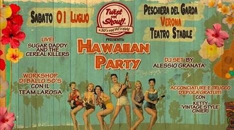 Hawaiian Party - Twist and Shout - Feste a Verona