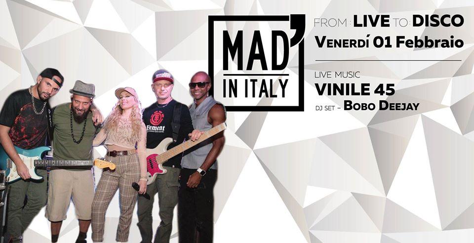From Live To Disco: Vinile45 e Bobo Dj al Mad' in Italy