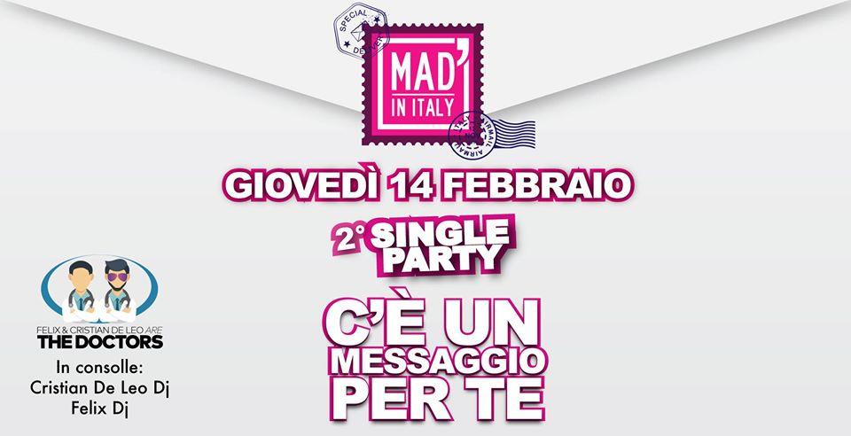 Single party seconda puntata: The doctors al Mad' in Italy