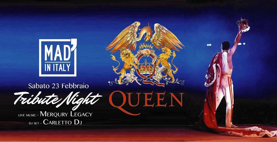 Tribute Night – Merqury Legacy e Carletto dj al Mad' in Italy