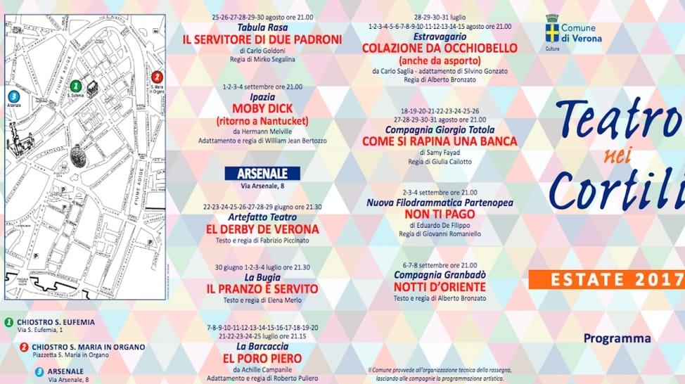Teatro nei Cortili 2017 - Teatro a Verona