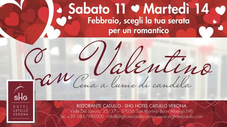 San Valentino all SHG Hotel Catullo Verona - Feste a Verona