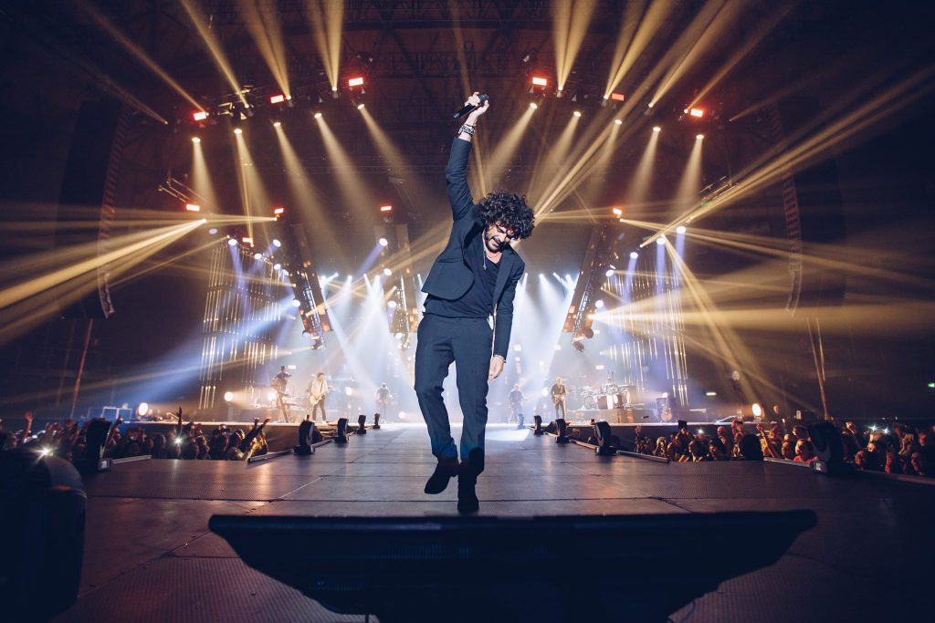 Francesco Renga maxi concerto all'Arena di Verona