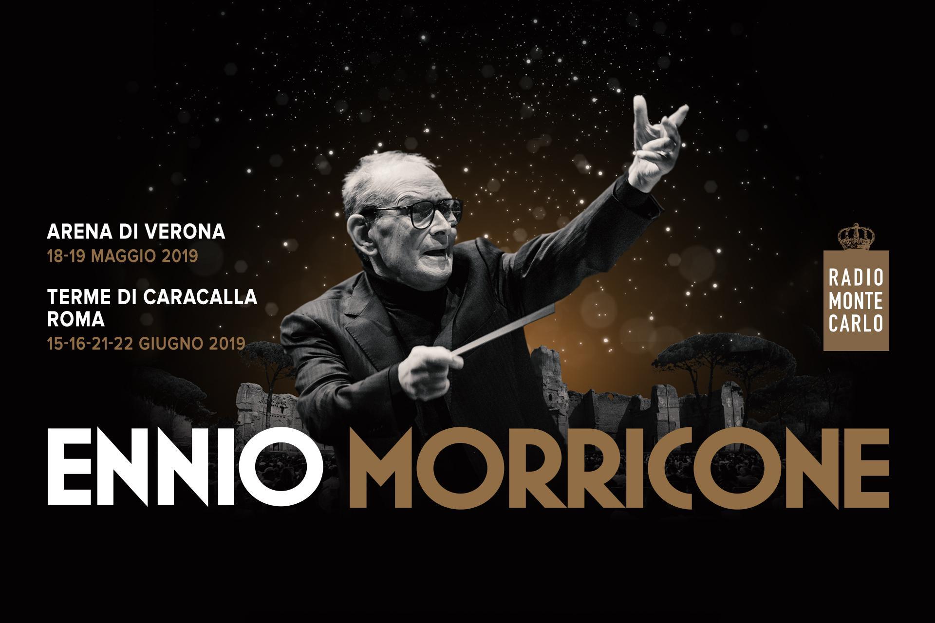 2 imperdibili serate di Ennio Morricone all'Arena di Verona