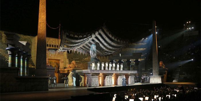 Aida all'Arena di Verona
