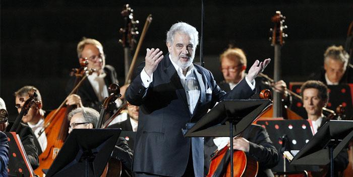 Plácido Domingo 50 Arena Anniversary Night all'Arena di Verona