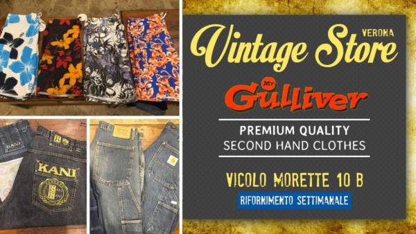 Abbigliamento Mr. Gulliver Vintage Store