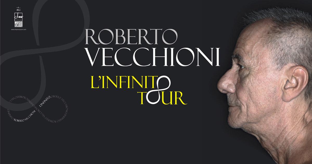 Roberto Vecchioni in tour con L'infinito