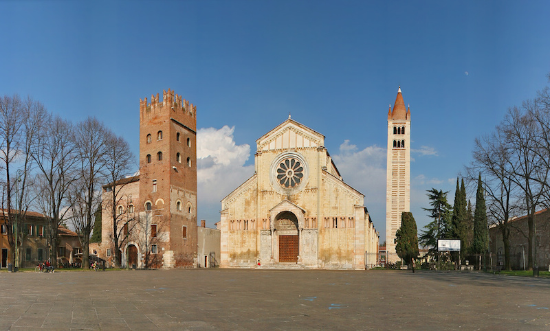 Piazza San Zeno - Luoghi da visitare a Verona