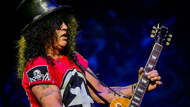 "Slash al ""Rock The Castle"" al Castello di Villafranca"