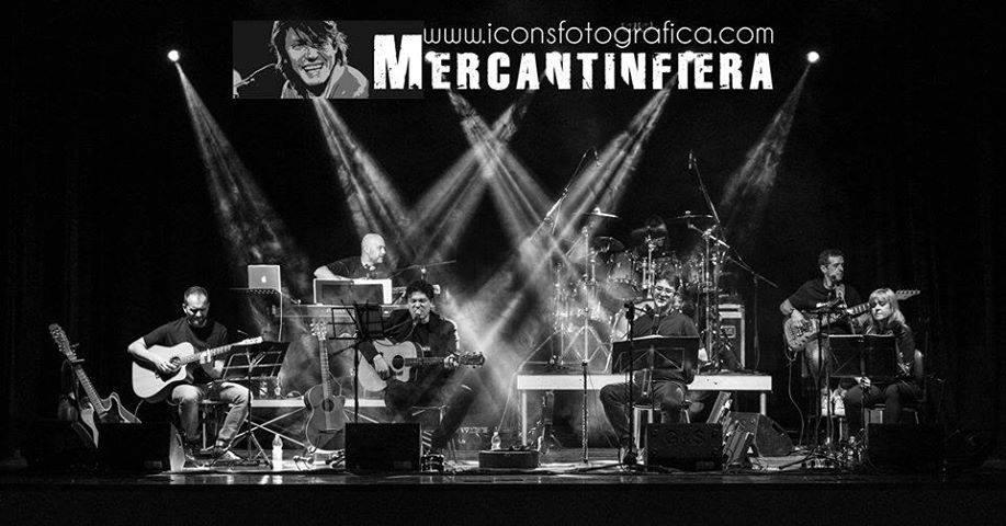 Mercantinfiera 2.0 – tributo a Fabrizio De Andrè al Club il Giardino di Lugagnano