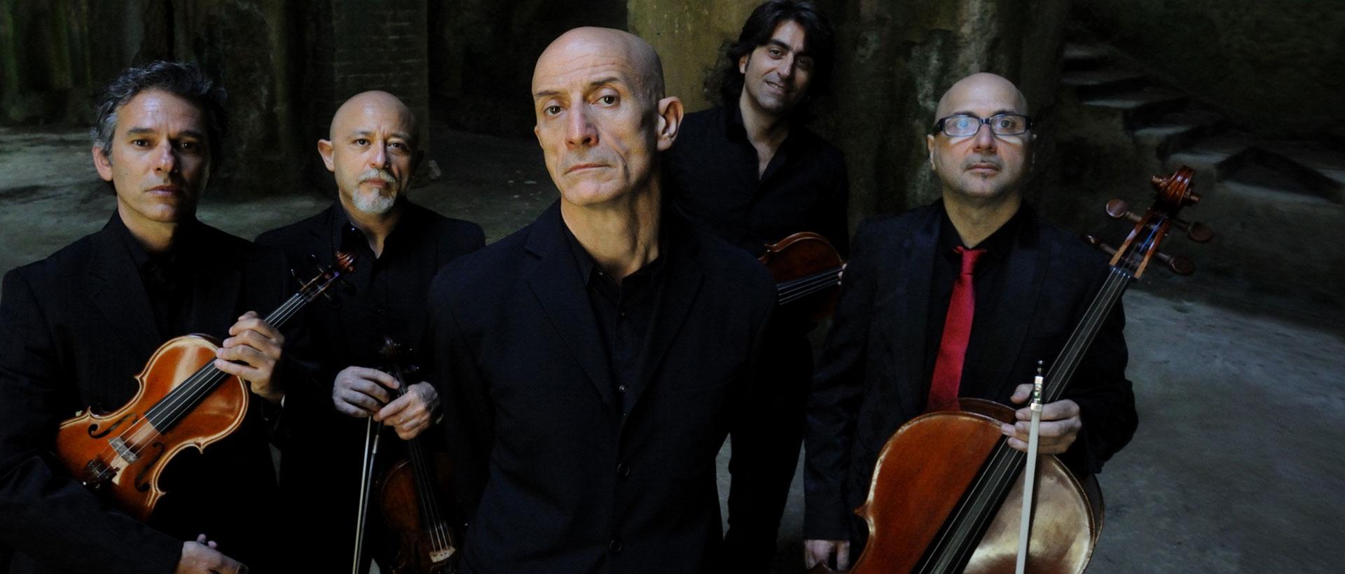Peppe Servillo & Solis String Quartet  al Teatro Salieri di Legnago