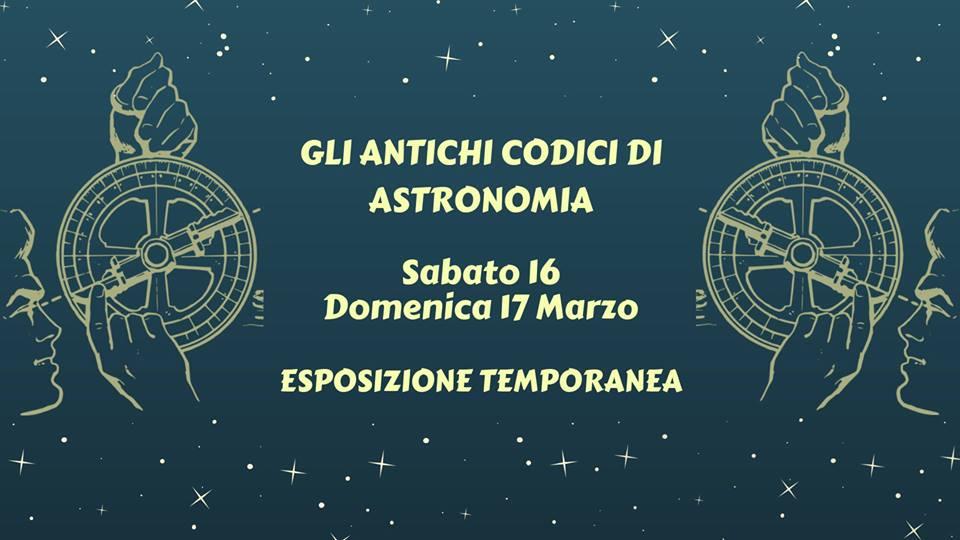 Gli antichi codici di Astronomia alla Biblioteca Capitolare