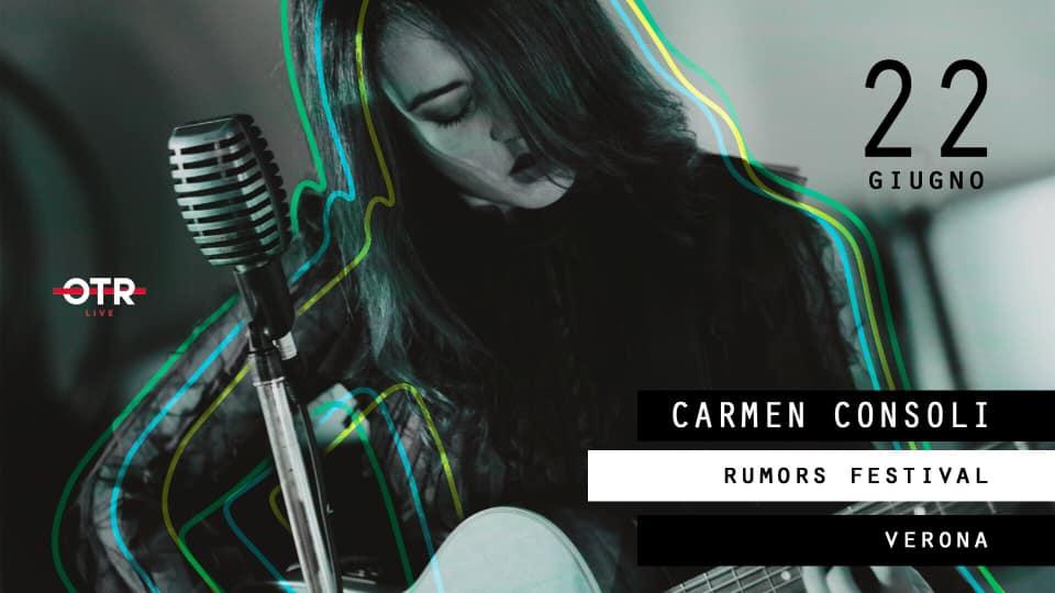 Carmen Consoli in concerto per il Rumors Festival