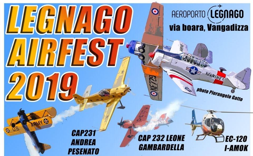 Legnago Airfest, la tradizionale festa del volo dell'Associazione Volo Legnago