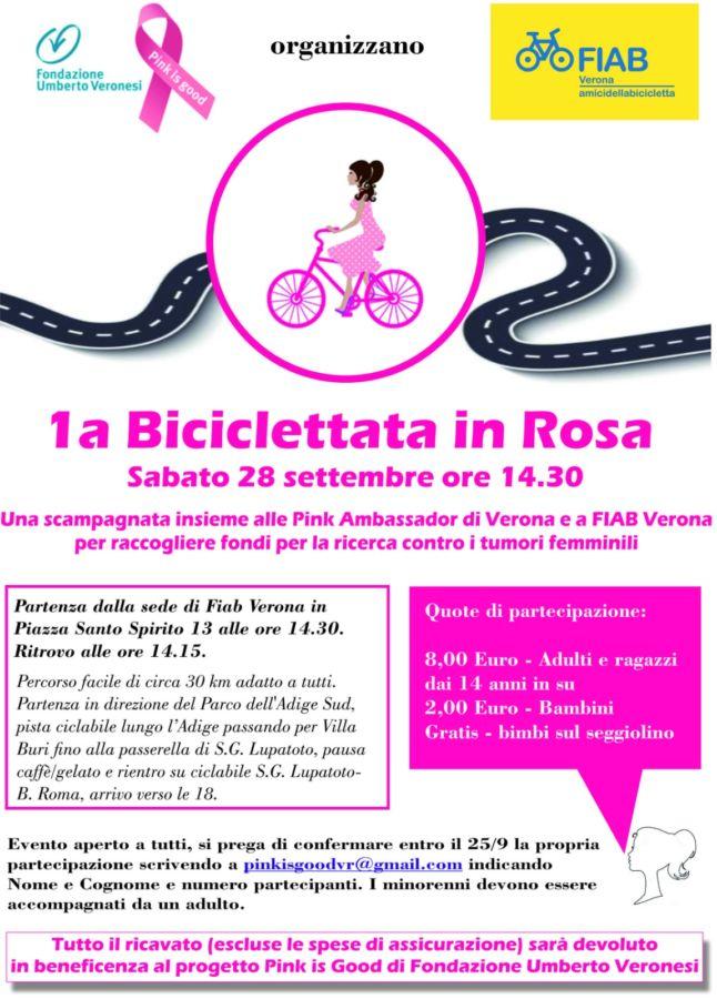"""""""Biciclettata in rosa"""""""