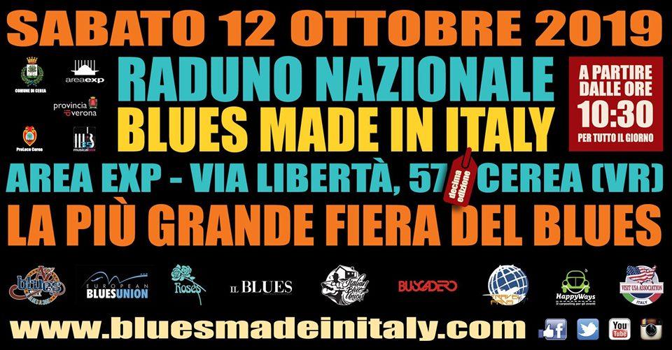 10° edizione della più grande Fiera del Blues in Italia all'Area Exp di Cerea