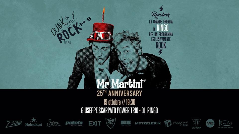 25esimo Anniversario di Mr Martini con Dj Ringo