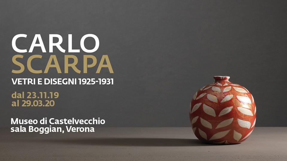 """Mostra """"Carlo Scarpa. Vetri e Disegni. 1925-1931"""" al Museo di Castelvecchio"""