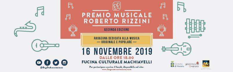 Seconda edizione del Premio Roberto Rizzini alla Fucina Culturale Macchiavelli