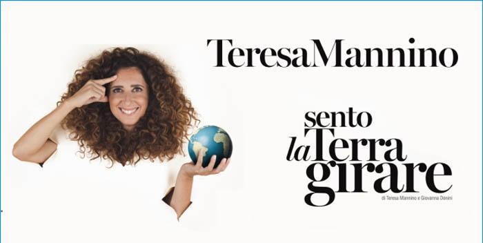 """Teresa Mannino con """"Sento la Terra Girare"""" al Teatro Nuovo di Verona"""