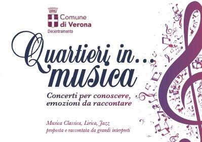 """9 appuntamenti per la nuova edizione della rassegna musicale """"Quartieri in … musica"""""""