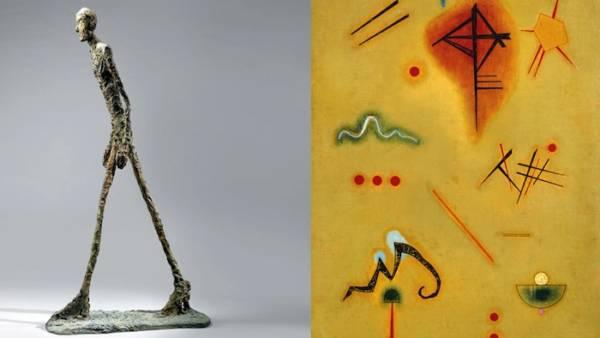"""""""Il tempo di Giacometti da Chagall a Kandinsky"""" in mostra al Palazzo della Gran Guardia"""