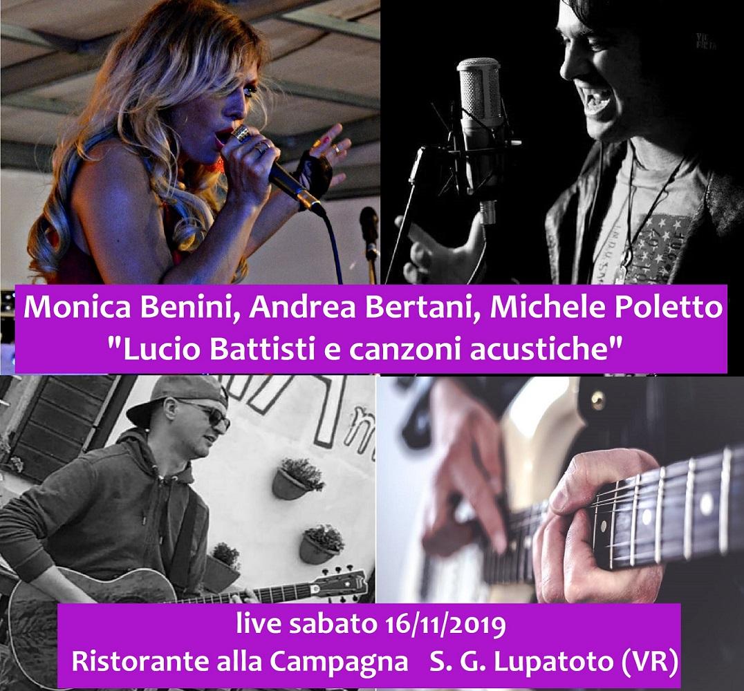 Lucio Battisti e canzoni acustiche al Ristorante La Campagna