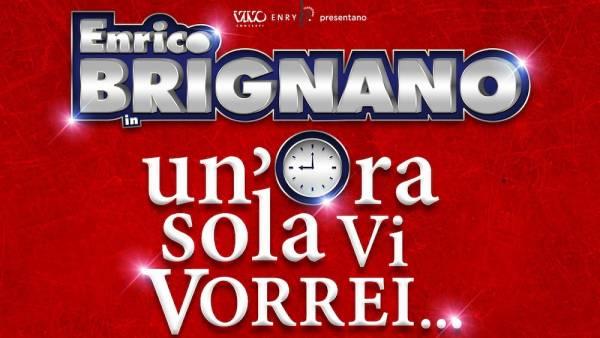 Il nuovo one-man show di Enrico Brignano all'Arena di Verona