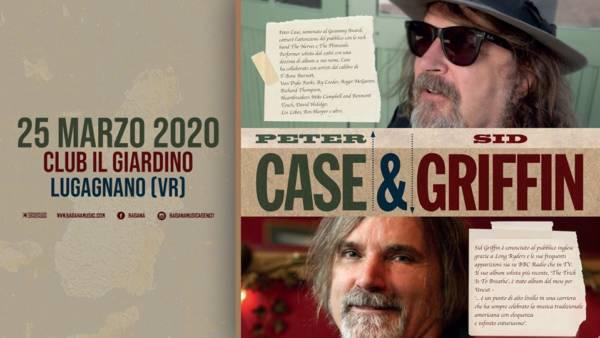 Peter Case e Sid Griffin al Club Il Giardino