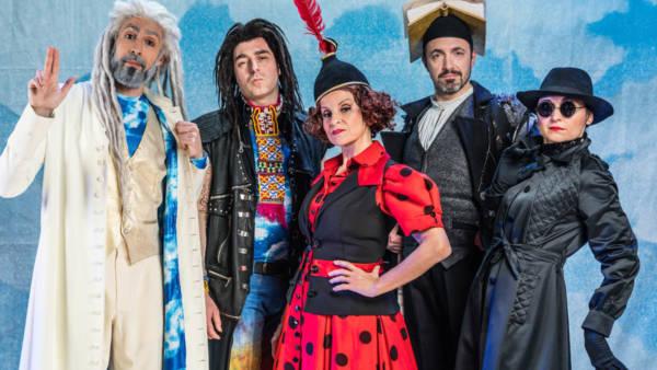 """Gli Oblivion portano in scena il musical """"La bibbia riveduta e scorretta"""" al Teatro Capitan Bovo"""