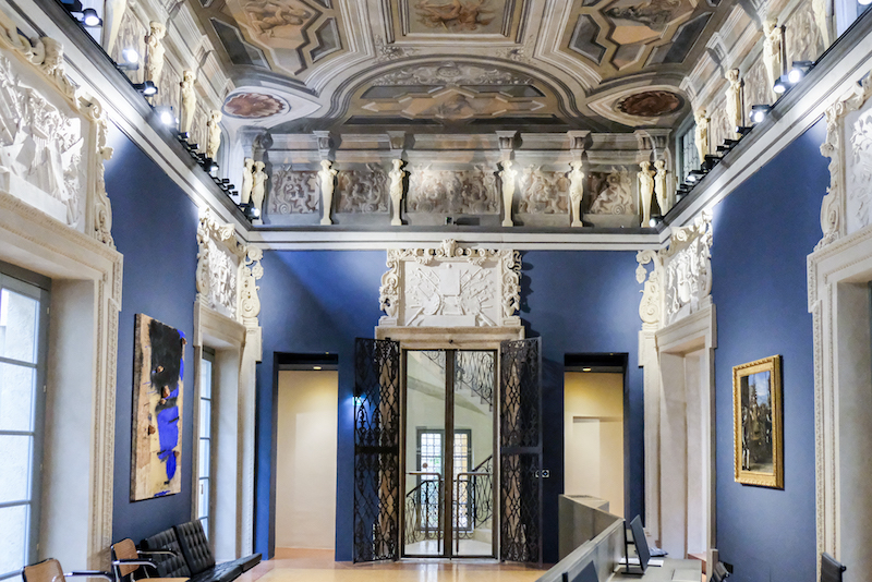 Interno del Palazzo Maffei