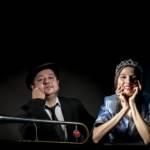"""Mauro Ottolini e Vanessa Tagliabue Yorke in """"Swing Sing"""" al Teatro Romano"""
