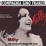 """""""Milly, un concerto lungo 60 anni"""" presso la Corte Ovest dell'ex Arsenale militare"""