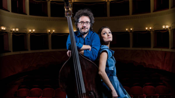 Musica Nuda con Petra Magoni e Ferruccio Spinetti al Teatro Romano