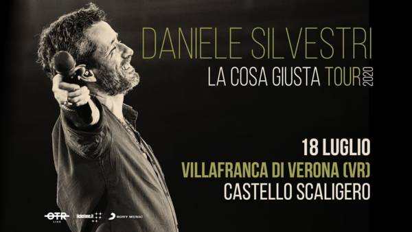 """Daniele Silvestri torna sul palco a luglio con """"La cosa giusta TOUR2020"""" al Castello di Villafranca"""