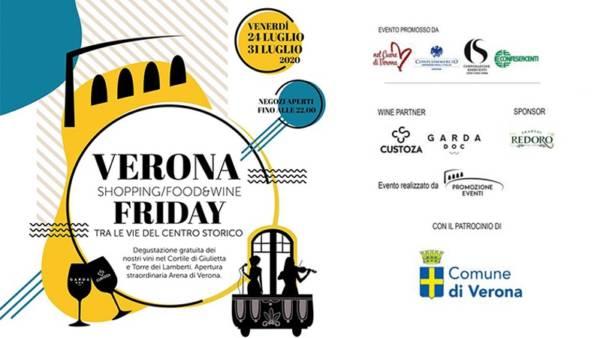 """""""Verona Festival""""… art, wine and food tra le vie dello shopping"""
