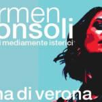 Carmen Consoli, unica data in Italia all'Arena di Verona