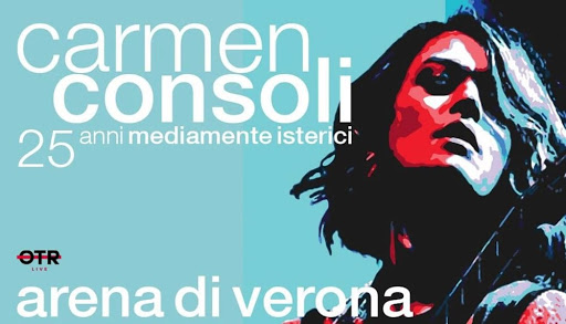 Carmen Consoli, unica data in Italia all'Arena di Verona