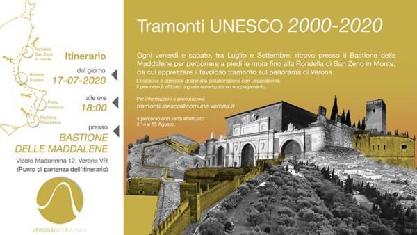 Tramonti Unesco per riscoprire le Mura Magistrali