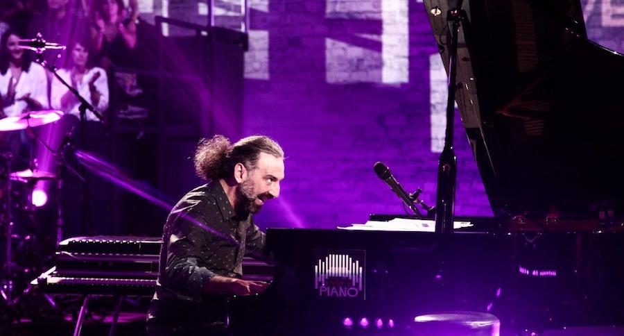 Stefano Bollani in concerto nello scenario mozzafiato dell'Arena di Verona
