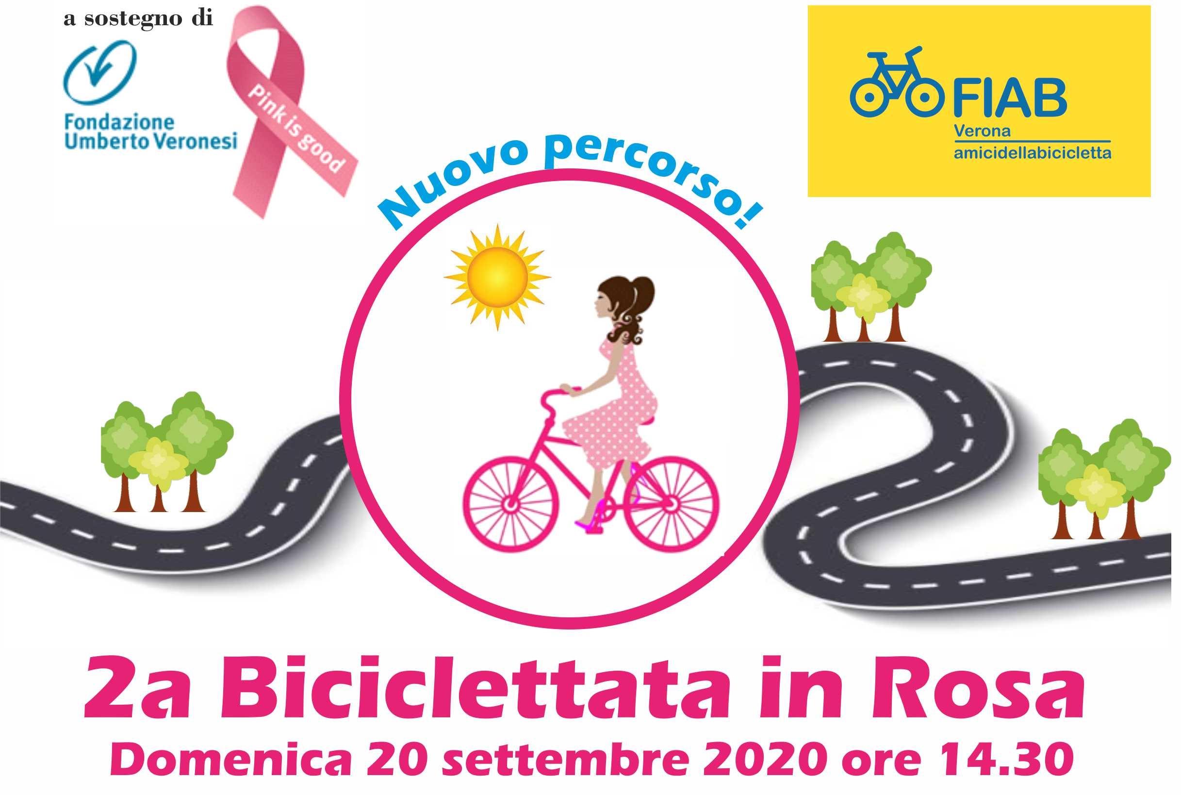 Seconda Biciclettata in Rosa con FIAB Verona