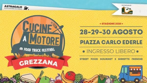 Cucine a motore – Food Truck Festival arriva a Grezzana