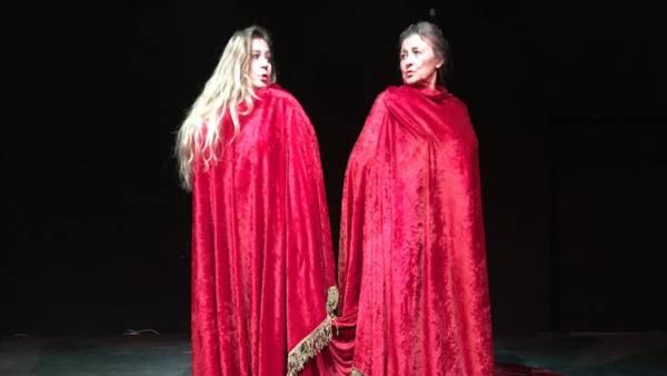 Isabella Caserta è Clitennestra al Teatro Romano